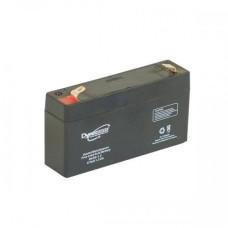 Baterie AGM DYNO 12V 1.3Ah/C20, 1.1Ah/C5