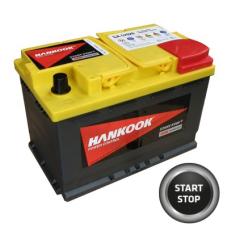 Baterie AUTO HANKOOK AGM 12V 70Ah